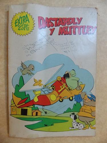 dastardly y muttley, euredit, hanna-barbera, 1973, 64 pag