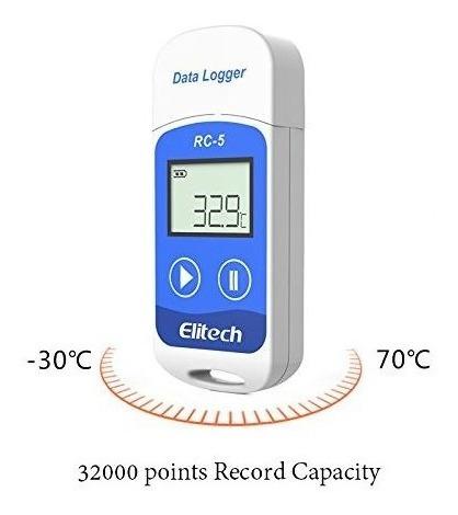 datalogger elitech rc-5 registrador temperatura cmprodemaq