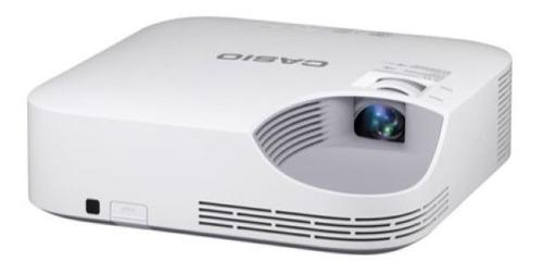 datashow projetor 3000 lumens casio xj-v2 laser led original