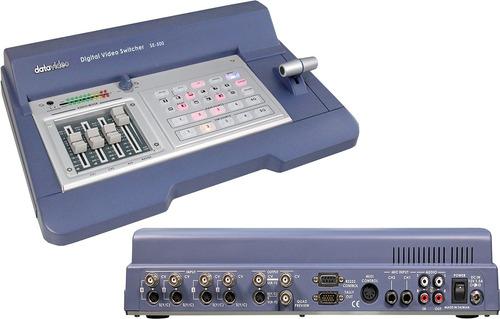datavideo se500 mezclador de audio/video