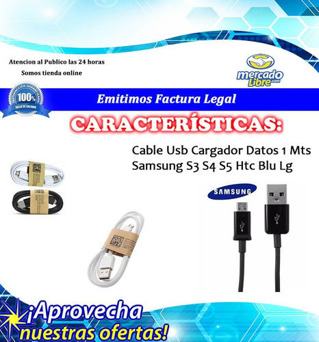 datos samsung cable