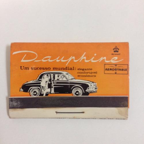 dauphine gordini  cortezia de época caixa de fosforos
