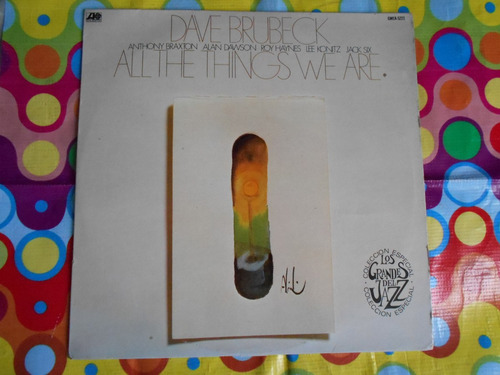 dave brubeck lp all the things we are