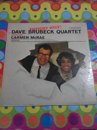 dave brubeck quartet lp tonight only. importado usa r