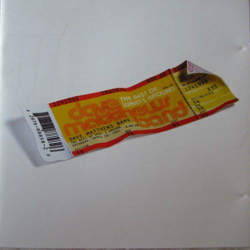 dave matthews band tour vol 1 cd lacrado original