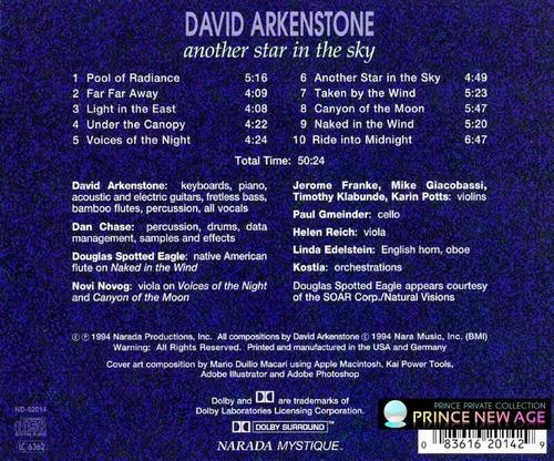 david arkenstone   another star in the sky   importado usa