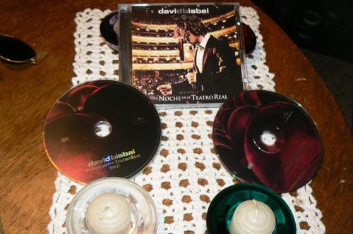 david bisbal  live 2 cd dvd joyas de coleccion  2018