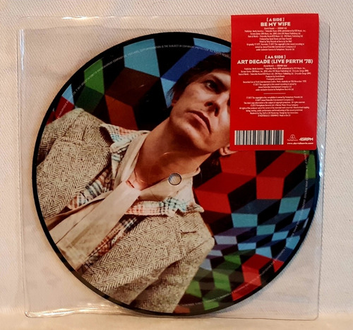 david bowie  - be my wife - picture disc lp
