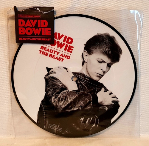 david bowie - beauty and the beast - single picture disc lp