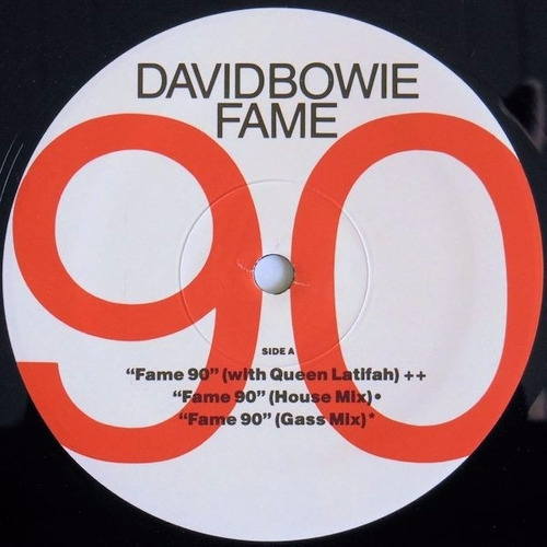 david bowie - fame 90 vinilo 12 maxi imported made in u s !
