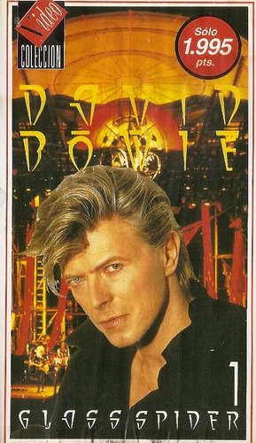 david bowie glass spider vhs 1988 importado