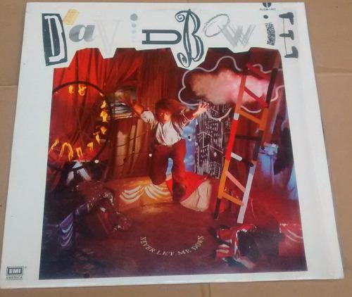 david bowie lp 1987  never let me down hecho en méxico