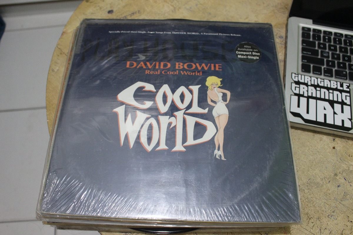 david bowie real cool world vinil 12 mix r 109 00 em mercado livre