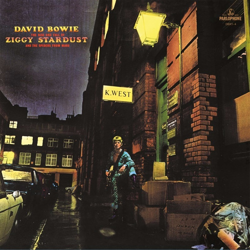 david bowie - rise & fall of ziggy stardu [nuevo vinilo lp]