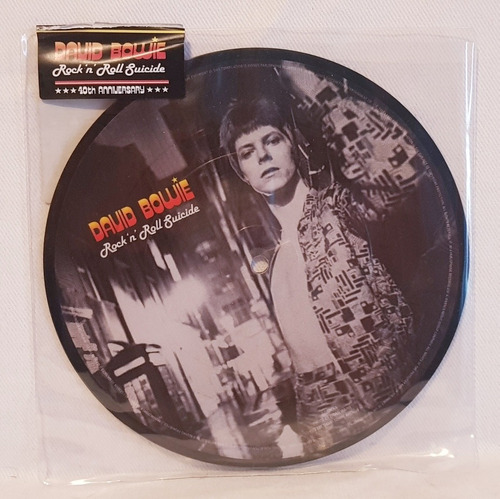 david bowie - rock and roll suicide - picture disc lp - 40