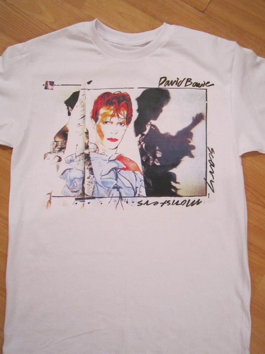 David Bowie SCochey Monsters Jugarera