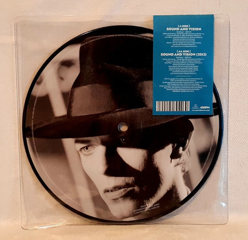 david bowie - sound and vision - picture disc lp -