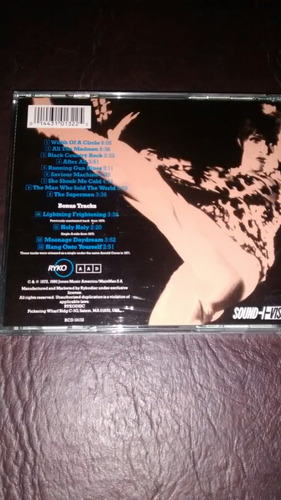 david bowie the man who sold the world 13 tracks importado