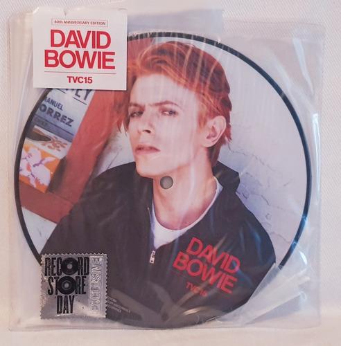 david bowie  - tvc15 - picture disc lp
