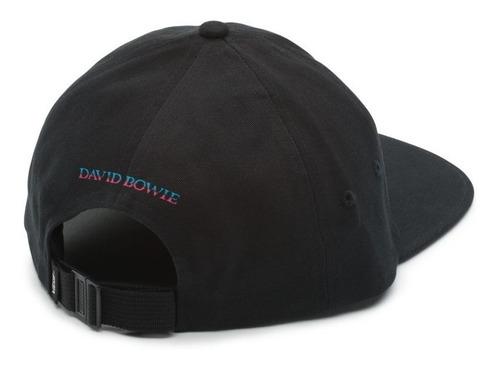 david bowie x vans aladdin sane gorra