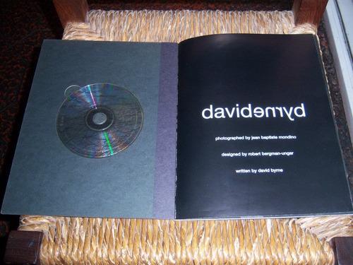 david byrne . cd edición especial . made in usa impecable