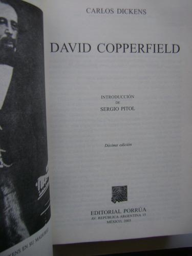 david copperfield / carlos dickens / editorial porrúa