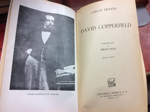 david copperfield - charles dickens - ed. porrua - 1987