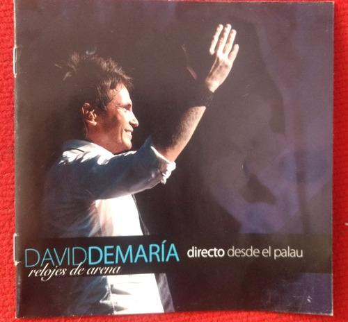 david demaria cd directo desde el paulau de barcelona