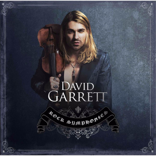 david garrett rock symphonies disco cd 15 canciones