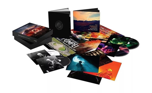 david gilmour - live at pompeii box set (2cd+2bluray) incl.