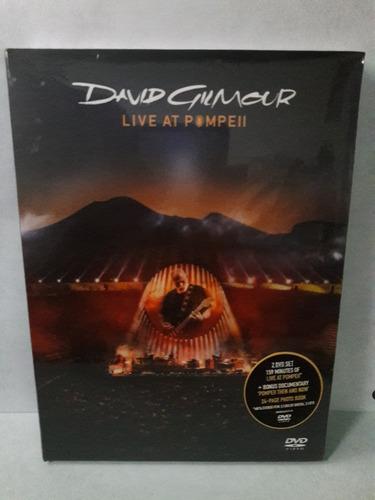 david gilmour live at pompell , dvd nuevo y original