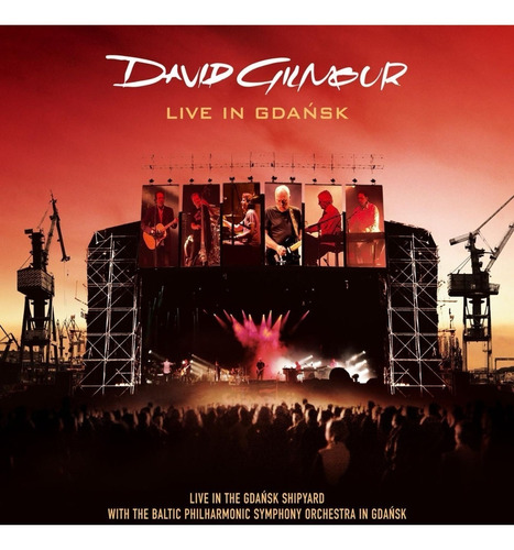 david gilmour - live in gdansk - 2 cds + dvd - nacional r$65