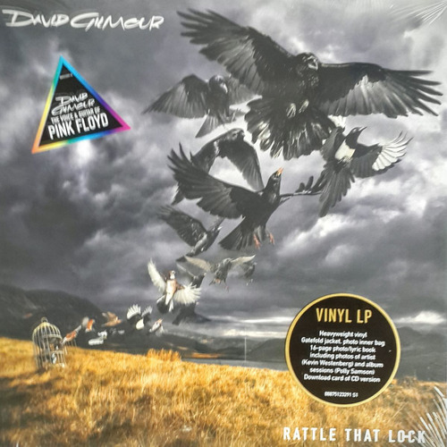 david gilmour - rattle that lock - vinilo - nuevo