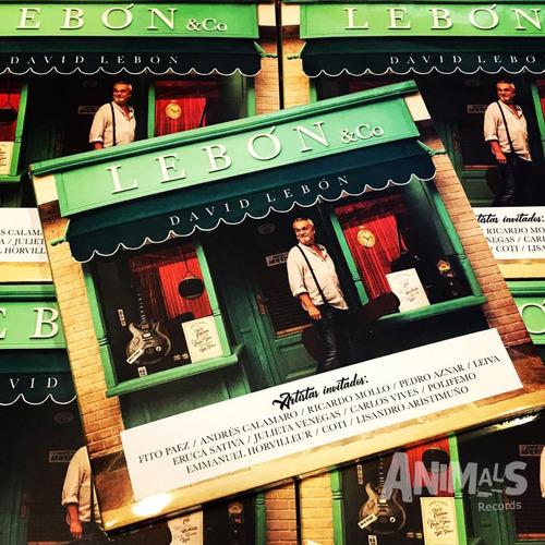 david lebon lebon & co cd nuevo 2019 original en stock