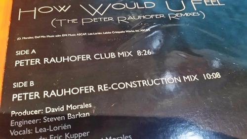 david morales how would u feel (the peter rauhofer remixes)