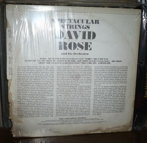 david rose lp spectacular strings