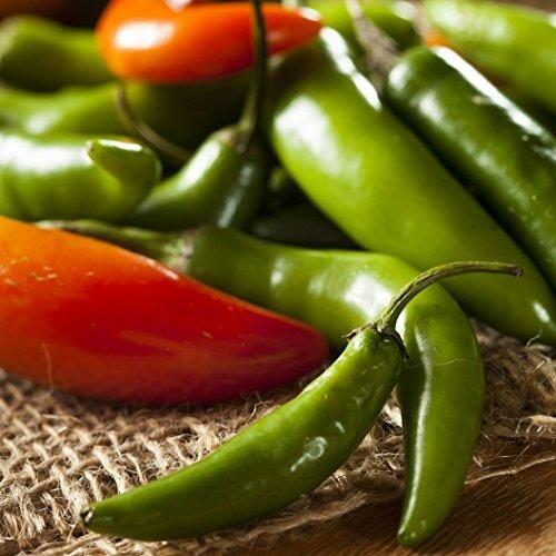 david s garden seeds pepper serrano slc red  heirloo...