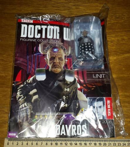 davros eaglemoss miniatura figure doctor who bbc dalek