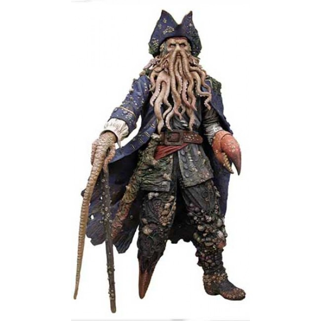 Davy Jones - Piratas Do Caribe 30cm (neca Toys) - R$ 680