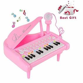 2 Años Juguete 3 Para De Piano 1 Daycmy Teclado 4 Niñas vnmN80wO