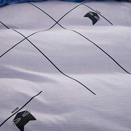 dayiyang juego de ropa de cama de gato personalizado