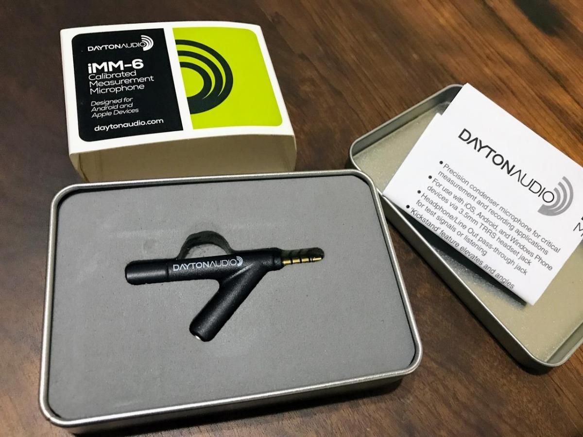Dayton Audio iMM-6 Calibrated Measurement Microphone