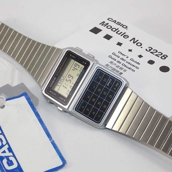 2b14962da1a Dbc-611 1df Relógio Casio Databank Calculadora Retrô - R  389