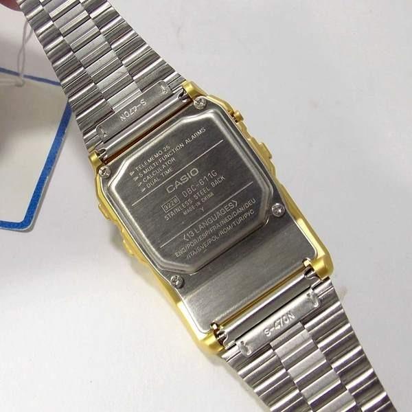 54ad0f15d68 Dbc-611g Relógio Casio Databank Retrô Vintage Gold Original - R  434 ...