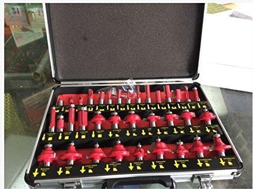 dboyun 1 set 35pcs bits de fresado para trabajar la madera b