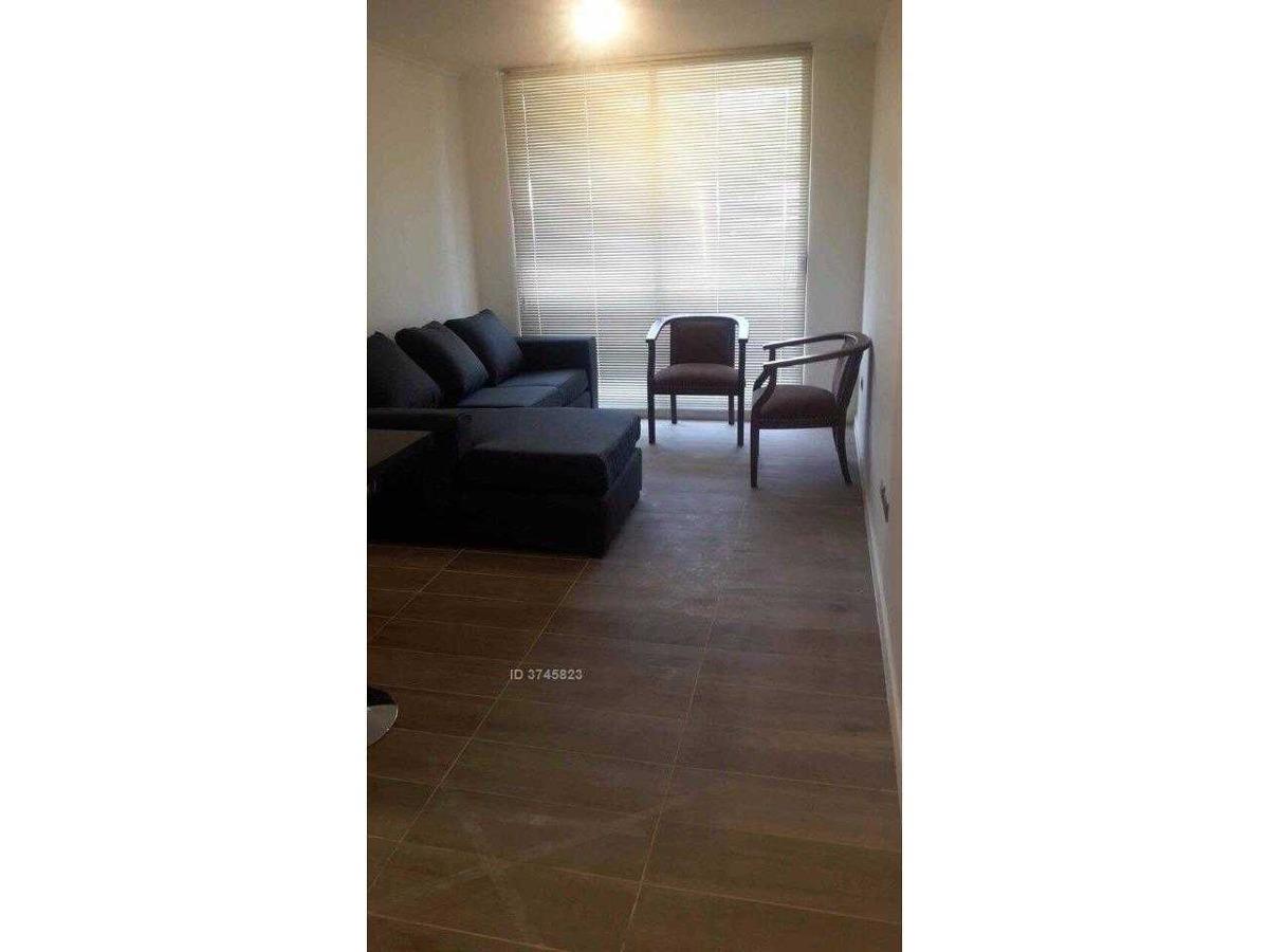 dbs propiedades arrienda hermoso departamento amoblado 1 dormitorio.