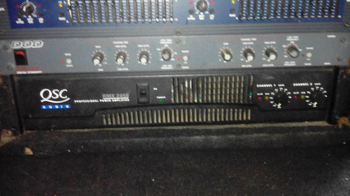 dbx dod y power qsc 2450