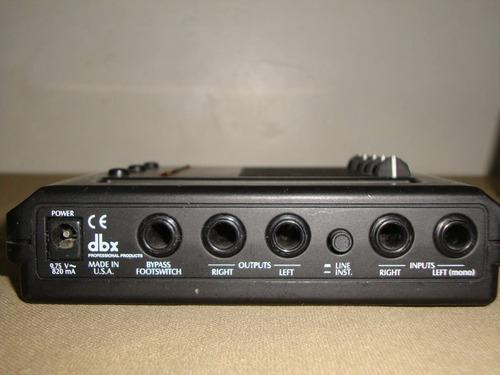 dbx modelo mc 6 mini comp - mini compresor