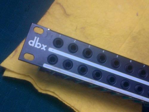 dbx pb-48 48-point 1/4  patchbay