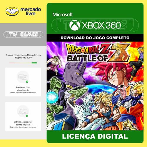 dbz battle of z digital xbox 360